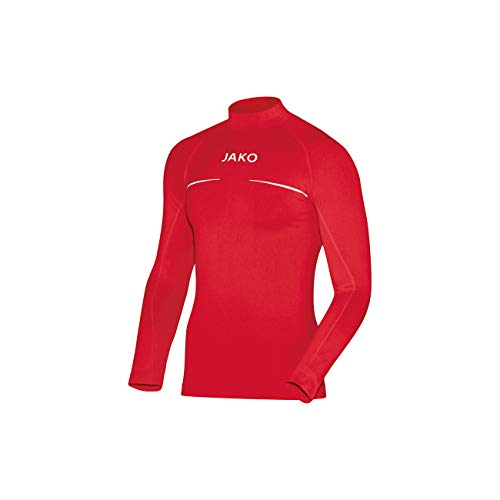 Jako - Turtleneck Comfort - Sous-vêtement fonctionnel - Mixte Enfant - Rouge - Taille: 140/152