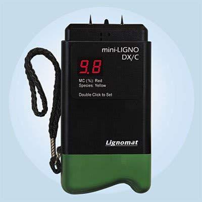 Lignomat D-4P mini-Ligno DX/C Moisture Meter with Electrode...