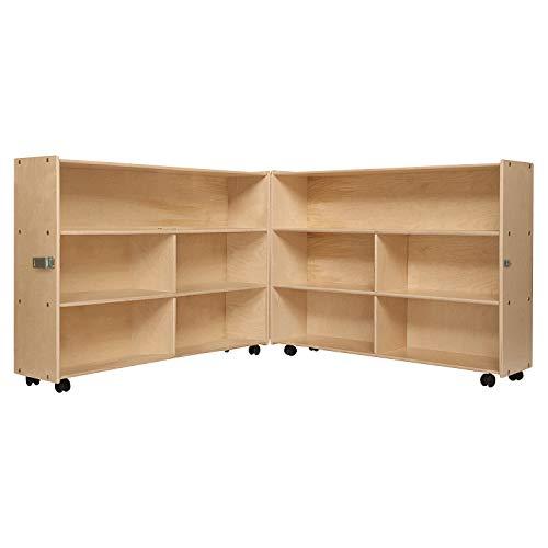 Contender Mobile Folding Versatile Storage Unit, 35-7/8