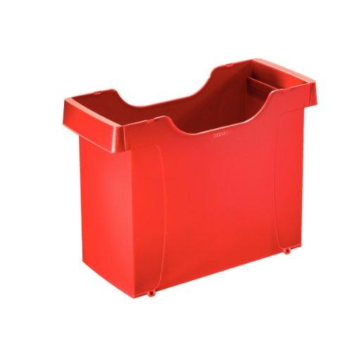 Leitz 1908-25 Uni Box Polystyrol 37x26x16,2cm rot