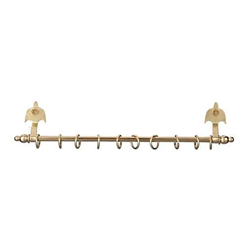 Houseworks, Ltd. Maison de Poupées Miniature 1:12 Laiton Accessoire Or Expansion Rideau Tringle