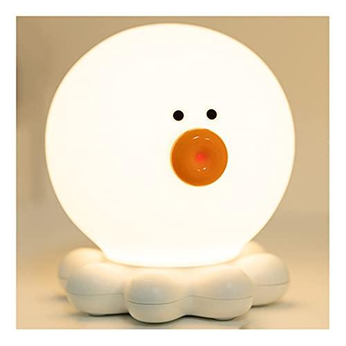 Lindo Linda luz Nocturna LED, luz de la Noche de Carga portátil de Carga USB, para camarillas de Pasillo Habitaciones para niños Bebés Bebés Lámpara de Noche Inodoro