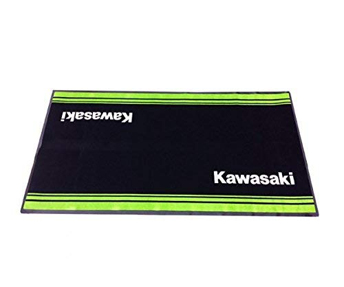 Kawasaki Matte Mechaniker Matte Unterlage 100x200 cm