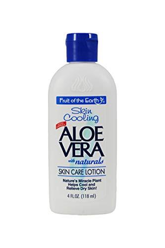 Fruit Of The Earth Aloe Vera Lotion 4 oz Fruit of the Earth Lot de 12 sacs de voyage