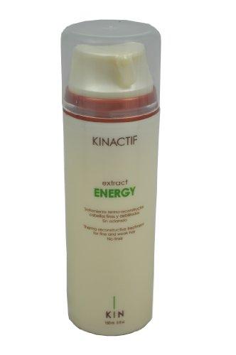 Kin Kinactif extraer energía termo Reconstructiva Sin Aclarado Tratamiento para Cabello Fino Débil - 150 ml