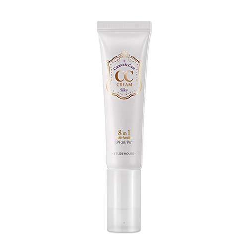 Etude House Correct and Care CC Cream, Silky, 1.3 Ounce