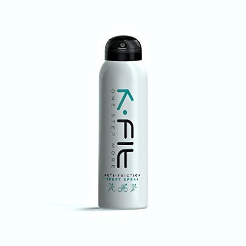 Kfit Sport Spray antisfregamento, anti vesciche, anti frizione, piedi, dita piedi, interno cosce, chamois, torace, braccia, fascia cardio, protezione capezzoli