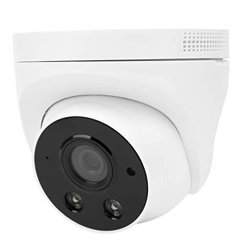 Cámara WiFi de 2MP con visión nocturna a todo color, cámara CCTV de seguridad para el hogar 1080P, cámara de vigilancia para interiores, conversación bidireccional(EU)