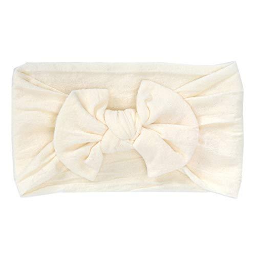 Alikeey Haarband voor baby's en kinderen, schattig, met strik, voor buiten, 1 stuks