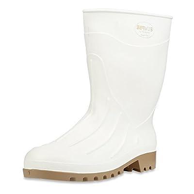 """Servus Iron Duke 12"""" PVC Polyblend Soft Toe Shrimp Boots"""