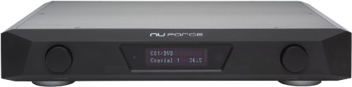 NuForce avp18Vorverstärker Audio/Video HD 7.1Surround schwarz matt