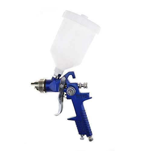 YINETTECH - Pittura ad aria HVLP compressa nebulizzazione 600 CC Cup 1,4 mm 1,7 mm 2 mm ugello decorazione corpo strumenti