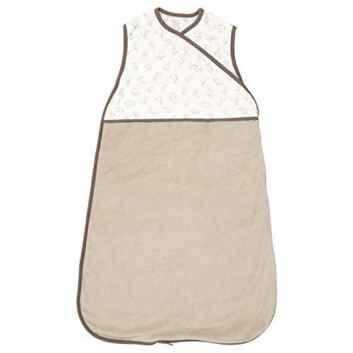 Schlafsack beige Hase Muster 0-6 Produktgröße 74 cm