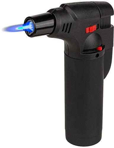 CN Flambierbrenner Flambierer Gasbrenner Kochzubehör Küchenprofi Lötlampe (Schwarz)