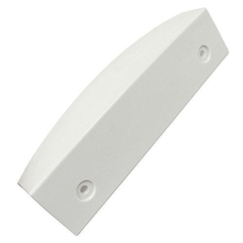 Spares2go White Deurkruk voor Bosch Koelkast diepvriezer/Koelkast