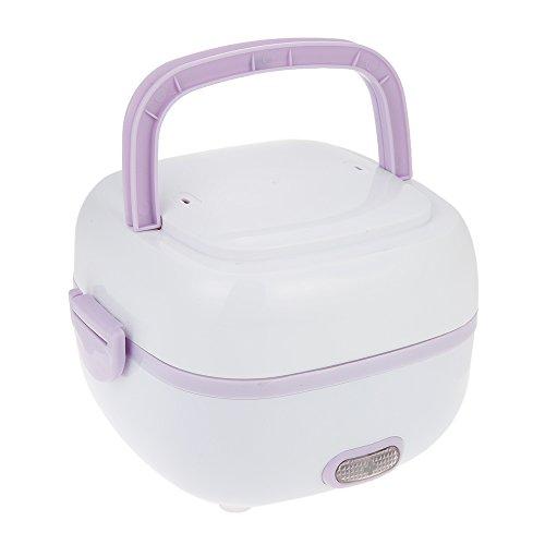 Multifuncional Mini Arroz Fogão Caixa de Refeição Elétrica Isolamento Térmico Almoço Caixa de Almoço de Aquecimento Elétrico com Navio