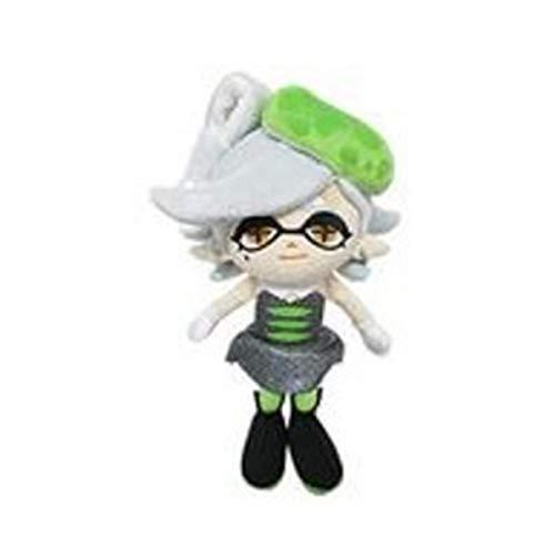 Little Buddy USA 1470 Splatoon Marie Green Squid Sister Plush, 10'