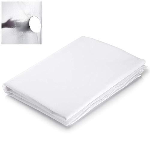 Selens 3x1,7M Diffusor Stoff Nylon Seide Weiß Diffusion Nahtloser Lichtmodifikator für Fotografie Beleuchtung, Softbox und Lichtzelte