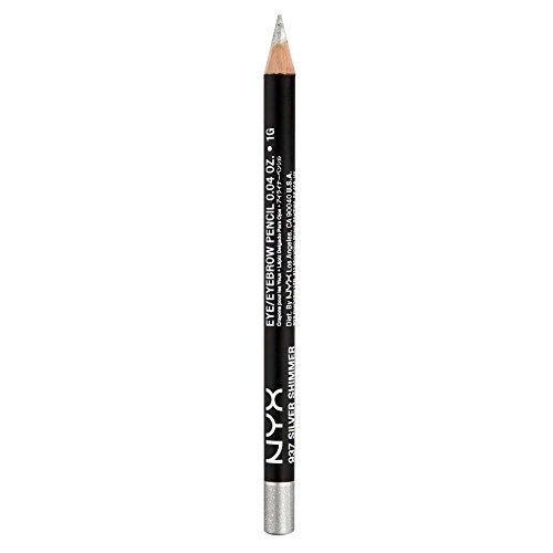 NYX Slim Eye Pencil Silver Glitter