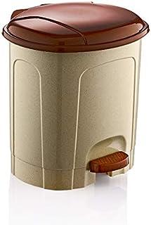 Hobby Life Lotus Pedal Dustbin 50LT Kreme Kahve