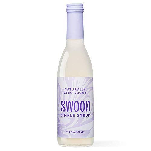 Swoon Zero Sugar Simple Syrup - Natural 1:1 Liquid Sugar Substitute - Sweetness from Monk Fruit - Sugar Free, Keto Friendly, Zero Carbs