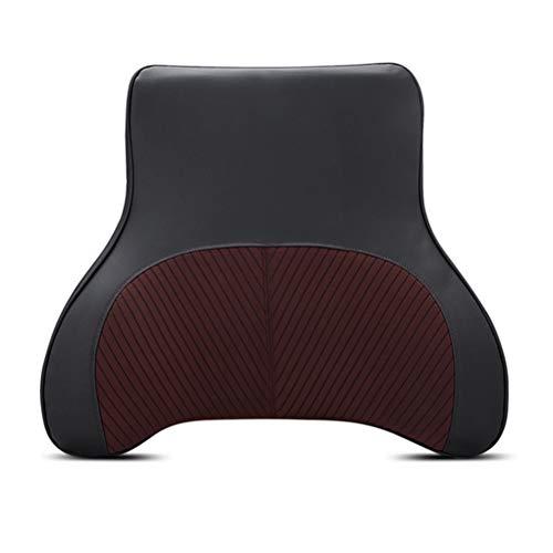 Car Lumbar Support Rugkussen voor zitkussen Memory Foam Ergonomisch ontwerp Universele pasvorm voor autostoel met pijnverlichting in de rug
