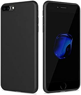 كفر حماية بلاستيك مرن لون أسود لجوال آبل آيفون7بلس  Apple Iphone7 Plus  5.5inch
