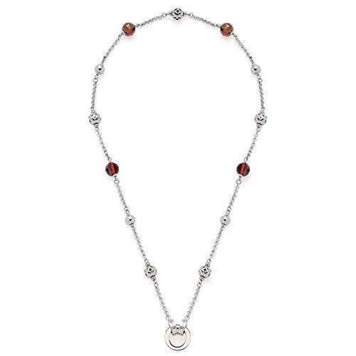 Jewels by Leonardo Damen-Kette ohne Anhänger Edelstahl Glas 017083