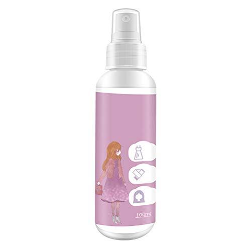 Tumnea Antistatik Spray Kleidung, Mehrzweck-Antistatikspray Kleidung Antistatisches Spray für Kleidung Haare Textilien Möbel und Auto - 100ml
