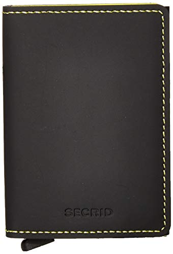 SECRID - Secrid Slanke portemonnee Echte Matte Leer RFID Safe Card Case voor max 12 kaarten