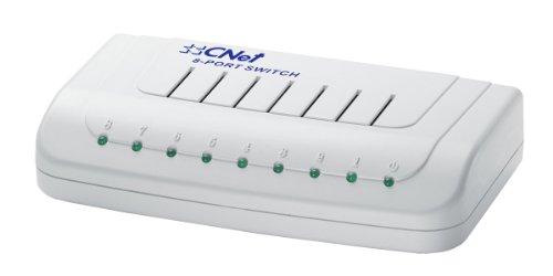 Cnet CNSH-800 8-Port 10/100Mbps Fast Ethernet Switch