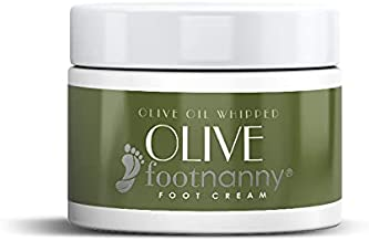 Footnanny - Olive Foot Cream - Soothes Cracked Heels and Dead Skin with an Old Fashion, Invigorating Formula