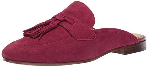 Sam Edelman Damen Paris Slip-on Loafer, Rot (Cranberry Suede), 37 EU