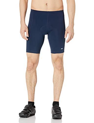 Amazon Essentials Pantaloncini da Ciclismo Imbottiti. Cycling-Shorts, Blu Marino, XXL
