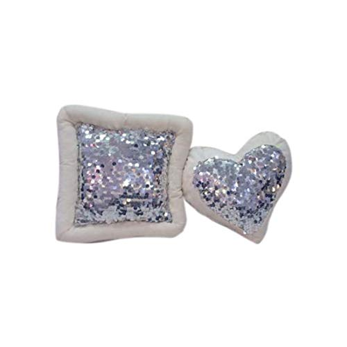 Heart Shaped Cushion Indian Handicrfats Export KanNik00003