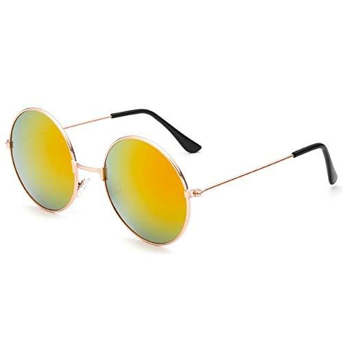 No_brand Rundglas Brille Sonnenbrille Für Frauen/Männer Weibliche Sonnenstangen Occulos Der Männlichen Bodenmode Buntes Design Sonnenbrille   Frauen Sonnenbrille