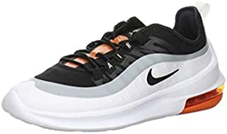 Air Max Axis Trainers Men White/Black/Red Low Top Trainers Shoes