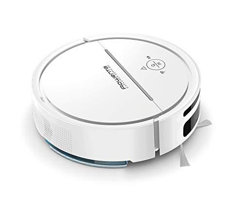 Rowenta Saugroboter X-Plorer Serie 80 RR7747   Permanente Raumkartierung inkl. Definition von No Go Zones   2 in 1 Reinigung   Saugen und Wischen   Smartes Navigationssystem mit Kamera   120m²   Weiß