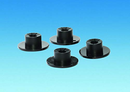 coverandcarry Awning Pole Feet Will Fit Any Awning Pole Size, Pack of 4