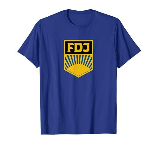 FDJ Shirt DDR Freie Deutsche Jugend Retro T-Shirt