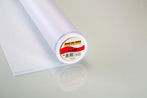 Vlieseline H200 weiß, pro Meter