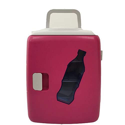 Koelbox, compact, persoonlijke koelkast, camping/barbecue/familie, outdoor-activiteiten, 12 V, voor auto, 220 V ~ 240 V voor thuis 12L rood