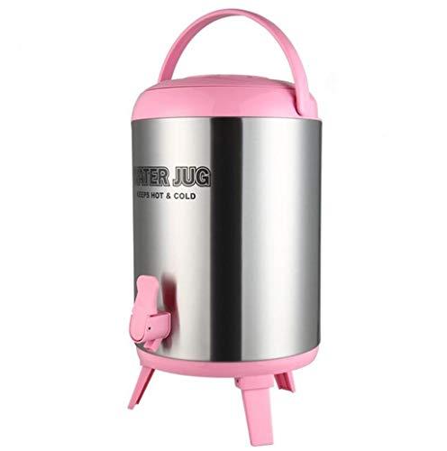 WWWANG Cubo de aislamiento multicolor revestimiento de acero inoxidable tienda de té té de la leche de soja pequeño cubo de gran capacidad de aislamiento puesto comercial restaurante Capacidad de refr