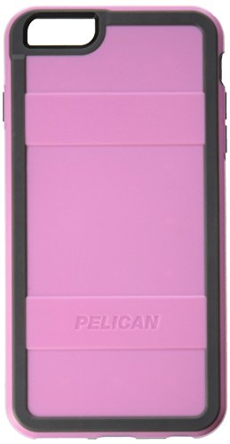 Pelican Cell Phone Case for Apple iPhone 6 Plus /6s Plus - Retail Packaging - Pink/Gray