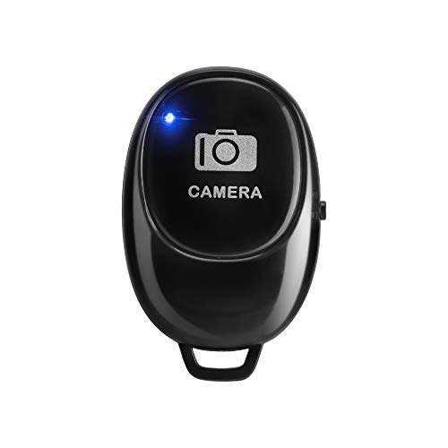 Wireless Shutter Remote Control JACKYLED Camera Shutter Remote Control with Bluetooth Wireless Technology for iPhone/Android, for Selfies/Group Photos, Create Amazing Photos & Videos Hands-Free
