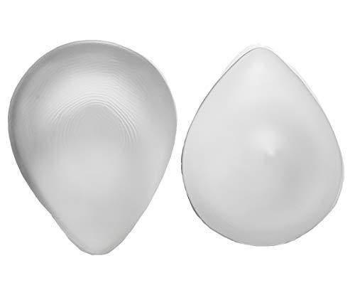Ajusen Silikonbrust Pad Einfügen Schwimmen Brustform Pocket-BH Enhancer-Inserts EIN Stück (300g-B Cup)