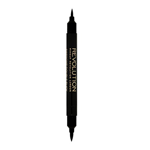 Makeup Revolution - Flüssig Eyeliner - Awesome Double Flick Thick and Thin