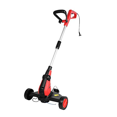 Mini Mower, retráctil, Ligero y portátil, Inicio/Eléctrico/Pequeño/Multi-Función (Size : 10Mpowercord)