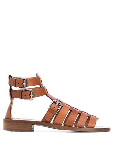 Church's Luxury Fashion Damen DX00859ADJF0ACW Braun Leder Sandalen | Frühling Sommer 20