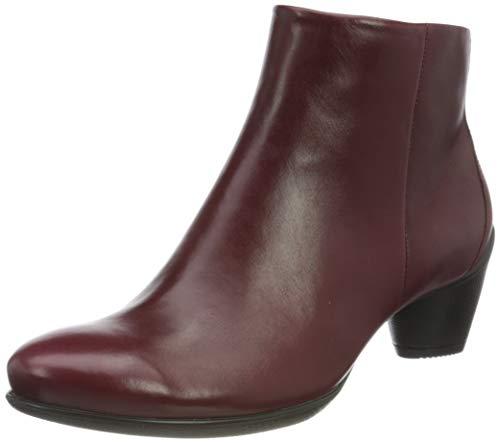 ECCO Damen Sculptured 45 Roxy Ankle Boot, Rot (Syrah), 39 EU